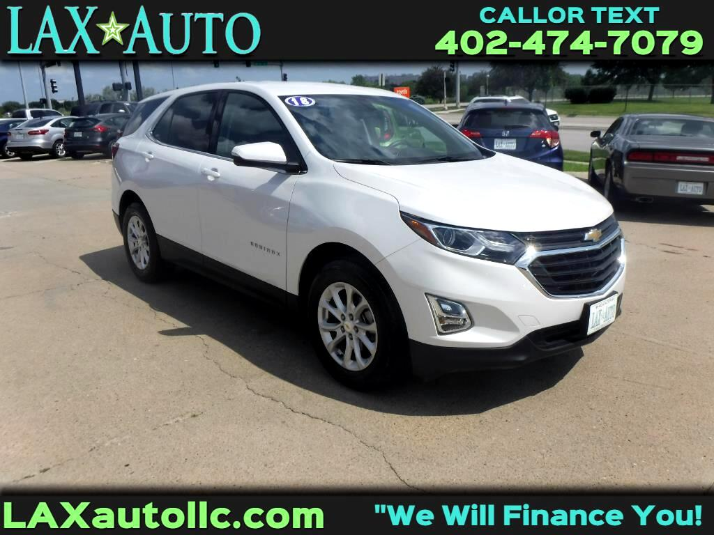 2018 Chevrolet Equinox LT FWD * Only 7,540 miles! * Like New! *