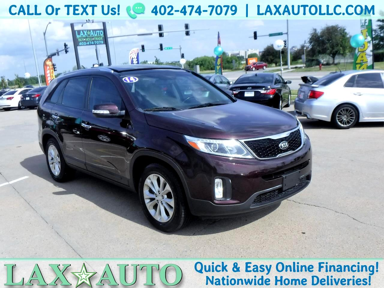 2014 Kia Sorento EX V6 * w/ 65k Miles * Back-up Cam! Navi! 3rd Row!