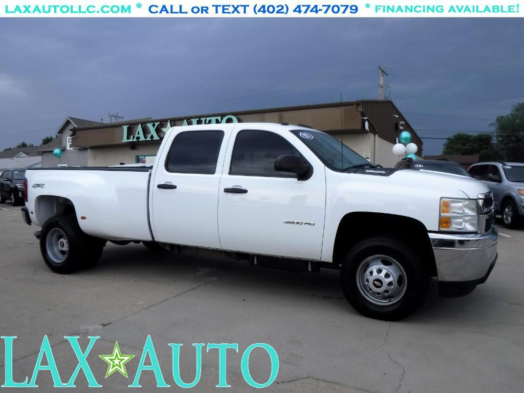 2011 Chevrolet Silverado 3500HD Crew Cab Dually 4WD * DURAMAX 6.6L Diesel *