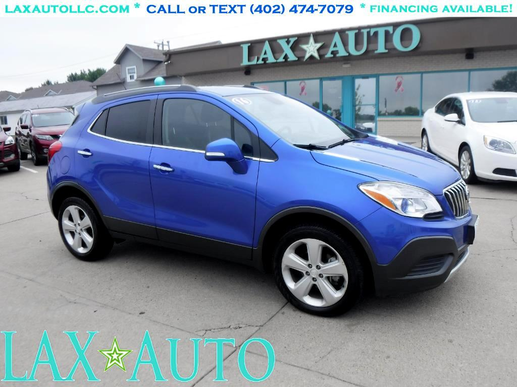 2016 Buick Encore AWD SUV * Only 17k Miles! * 1-Owner! *Back-up Cam!