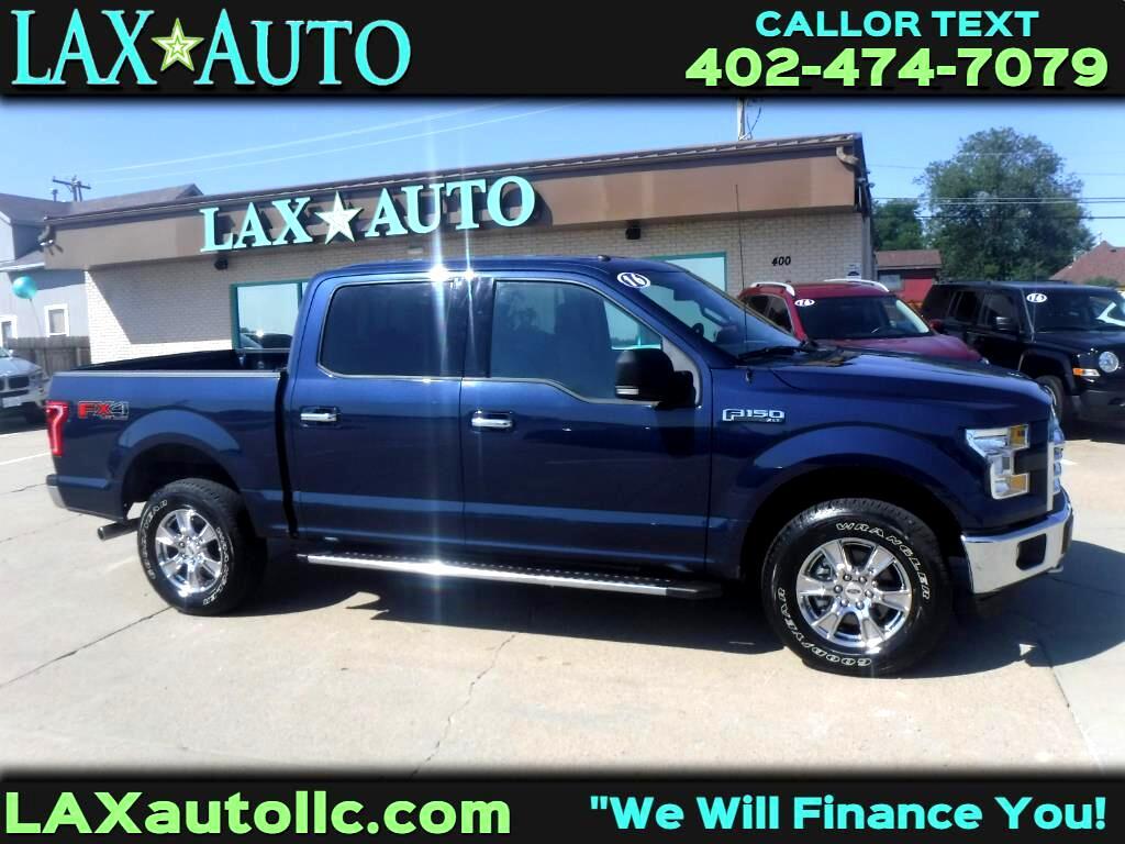 2016 Ford F-150 XLT SuperCrew 4WD FX4 Off-Road! * 5.0L V8 *Blue*