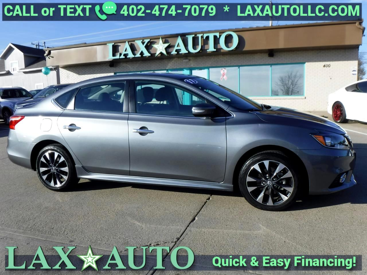 2017 Nissan Sentra SR * Only 6,126 miles! *Gray*