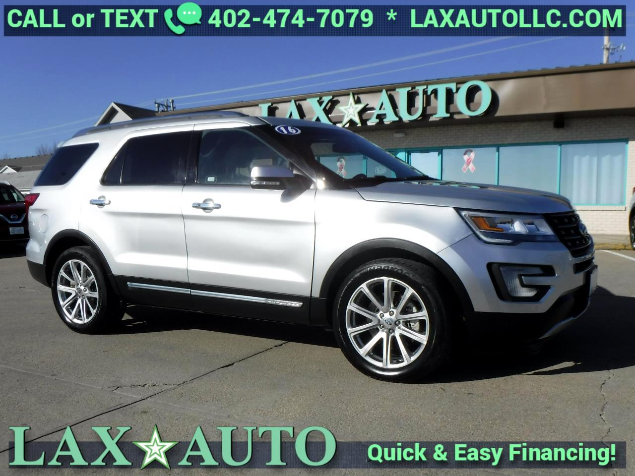 2016 Ford Explorer Limited * 42k miles * Navi! Back-up Cam! 3rd Row!
