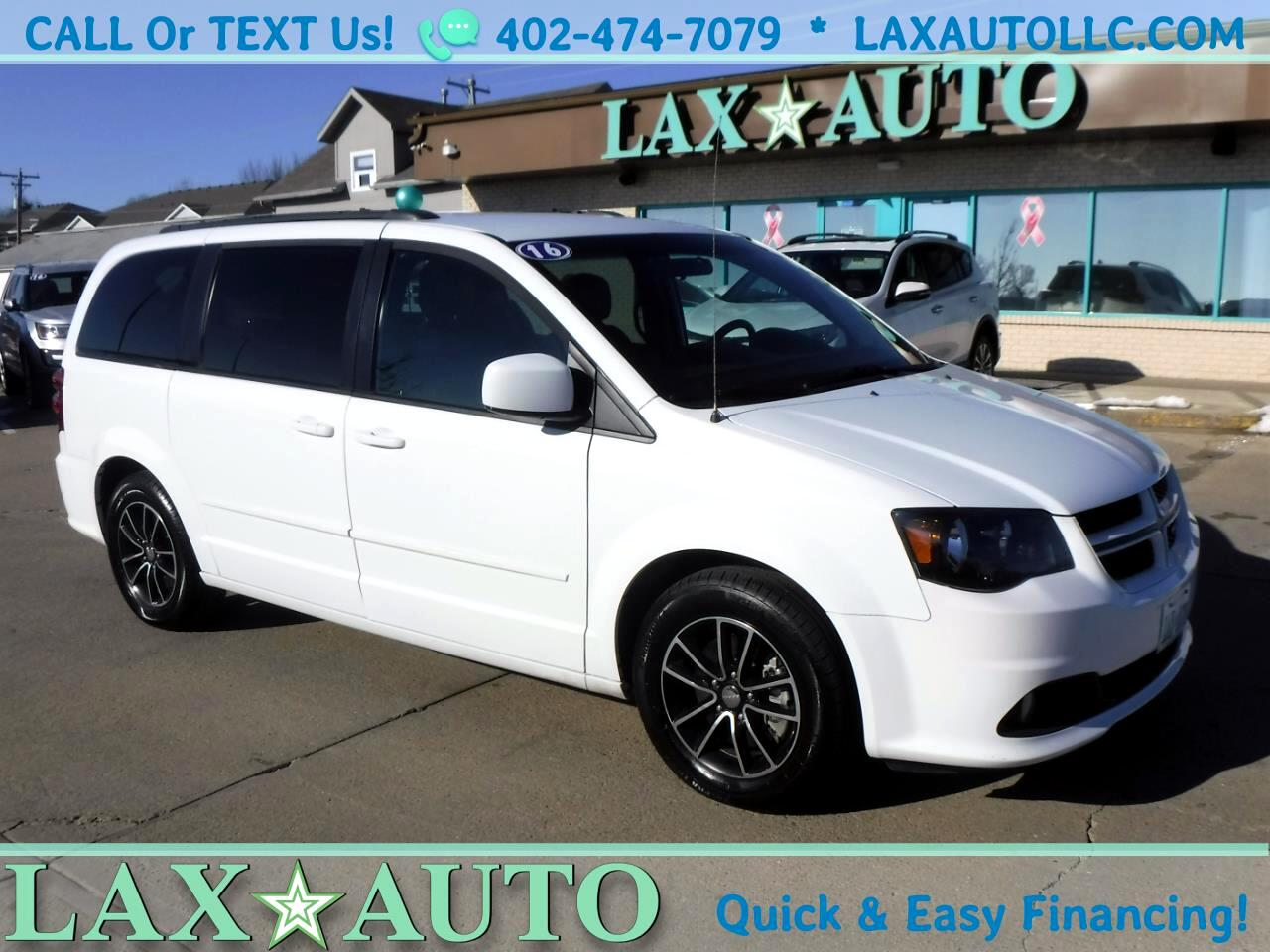 2016 Dodge Grand Caravan R/T * Only 32k Miles! * Back-up Cam! Leather!
