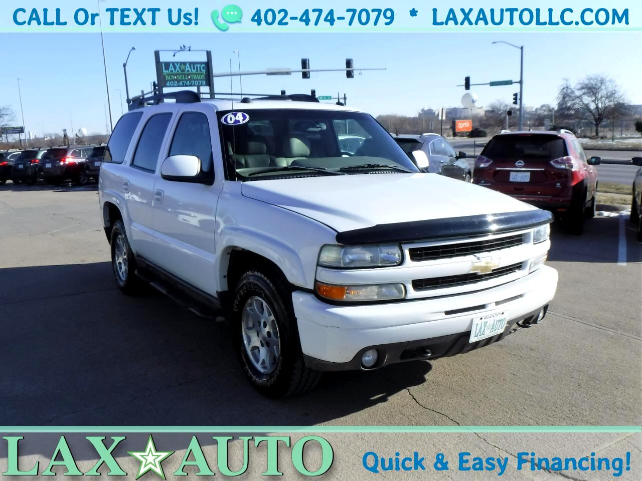 2004 Chevrolet Tahoe 4WD LT Z71 * w/ 3rd row! DVD/Video! Bose Sound!