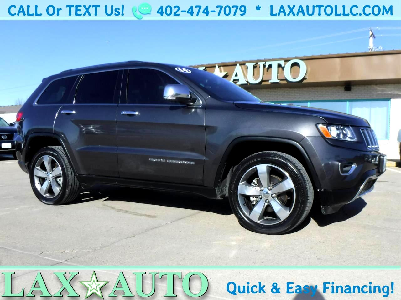 2014 Jeep Grand Cherokee Limited 4WD * Only 52k Miles * w/ Navi! Sunroof!