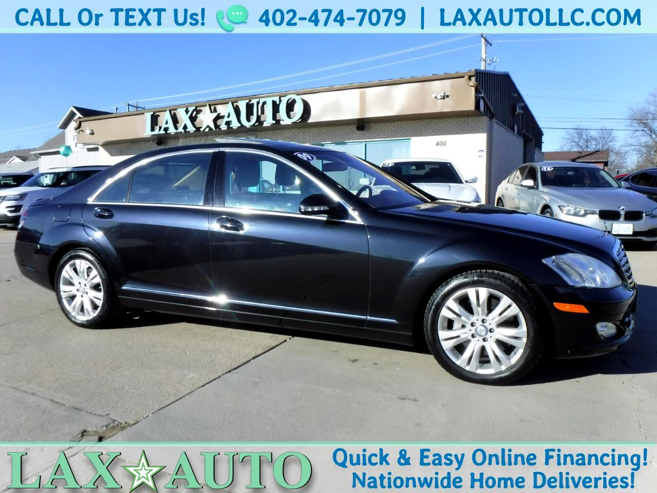 2009 Mercedes-Benz S-Class S550 4MATIC Luxury Sedan * Only 74k Miles!