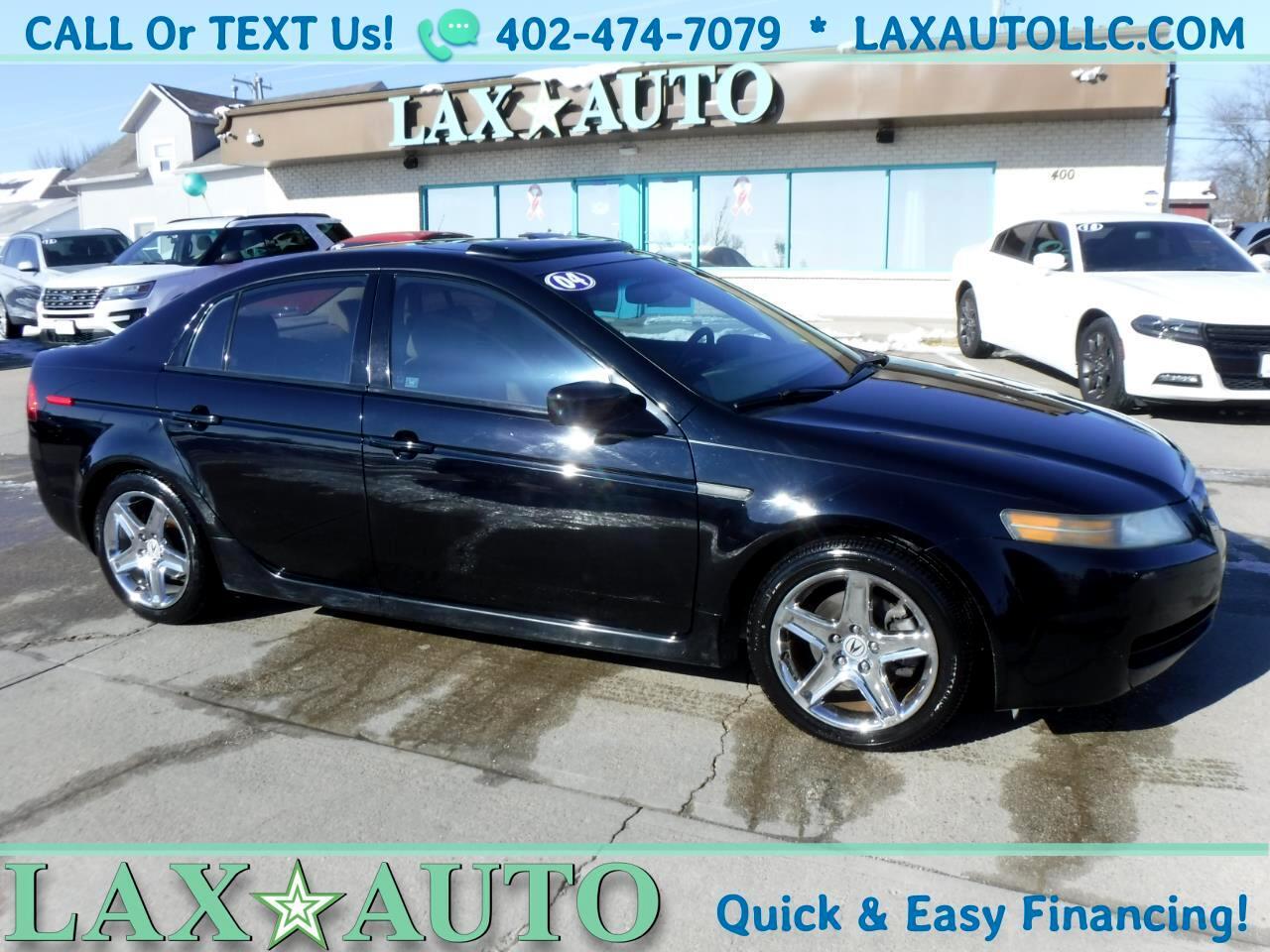 2004 Acura TL Sedan * w/ heated leather! Sunroof!