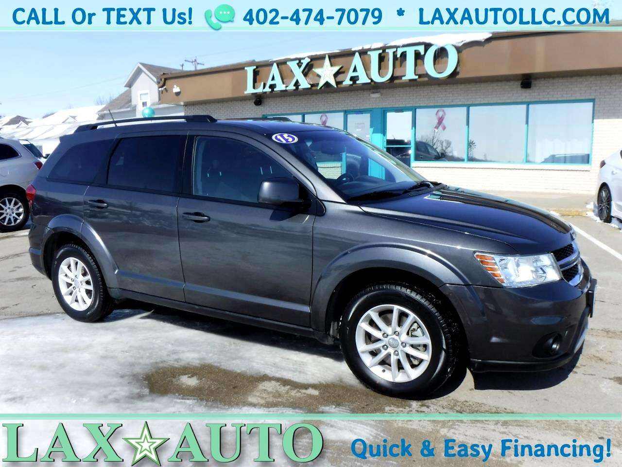 2015 Dodge Journey SXT AWD * 64k Miles! 3rd Row! Push Start!