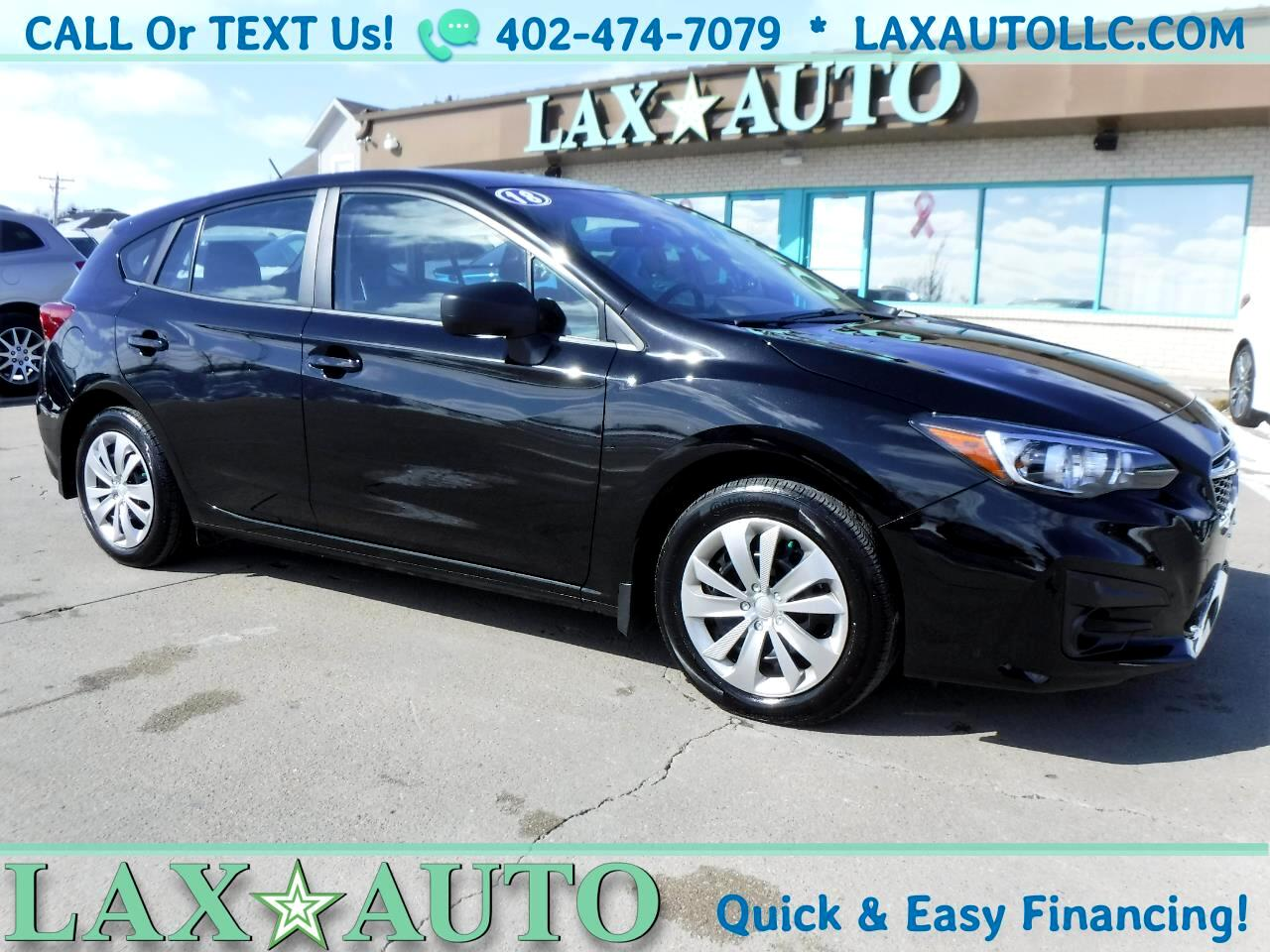2018 Subaru Impreza 2.0i AWD 5-Speed Manual * Only 5,290 Miles!