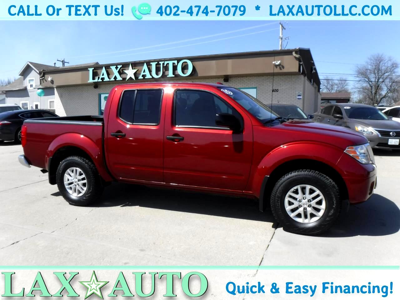 2015 Nissan Frontier SV Crew Cab 4WD * Only 36K Miles!