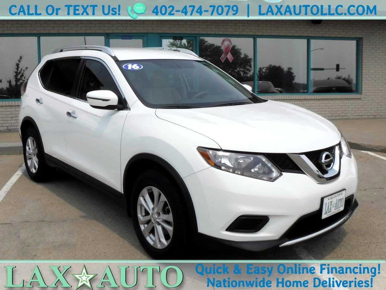 2016 Nissan Rogue SV SUV w/ only 41k Miles! Back-up cam! Push Start!