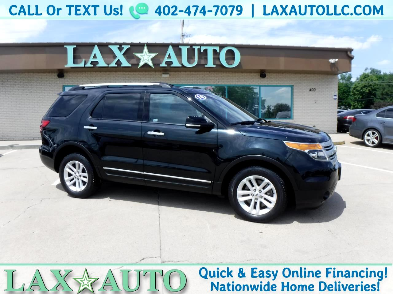 2014 Ford Explorer XLT 4WD w/ 3rd Row Seat! * 58K Miles *