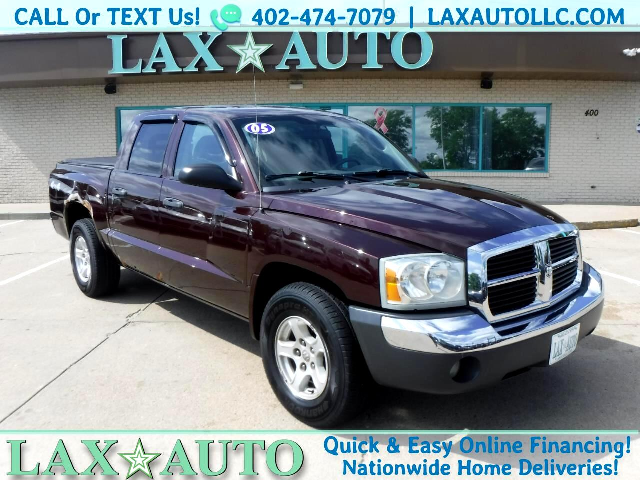 2005 Dodge Dakota SLT Quad Cab 4WD w/ 114K Miles *