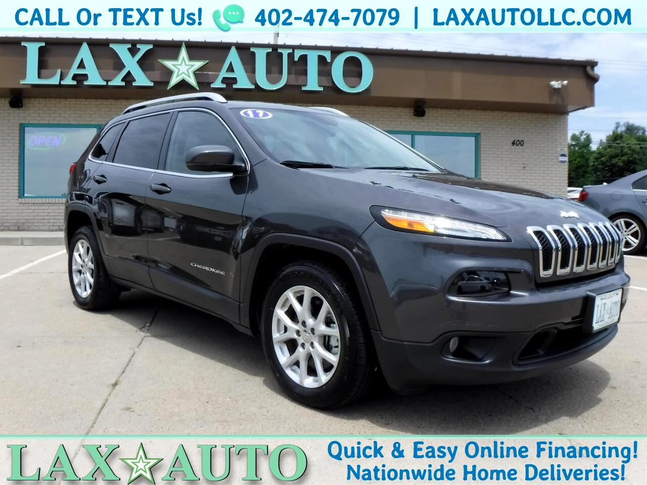 2017 Jeep Cherokee Latitude V6 w/ only 22k Miles! Back-up cam!