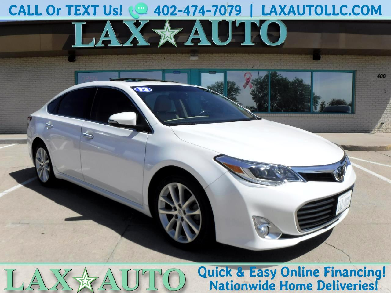 2013 Toyota Avalon Limited w/ Only 43k Miles! Navi! Loaded!