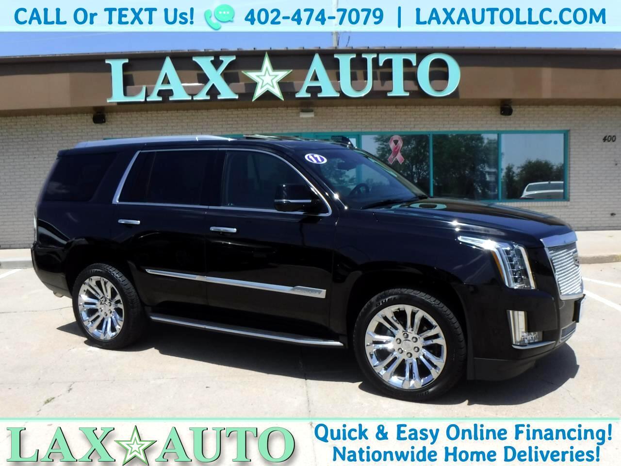 2017 Cadillac Escalade Luxury w/ Only 2,421 Miles! Navi! Bose Sound!