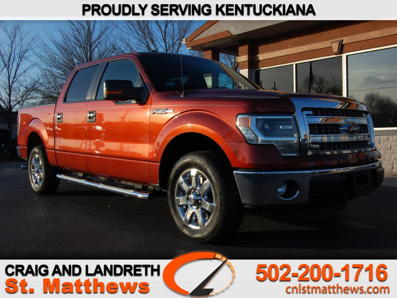 Ford F-150 XLT SuperCrew Short Box 2WD 2014