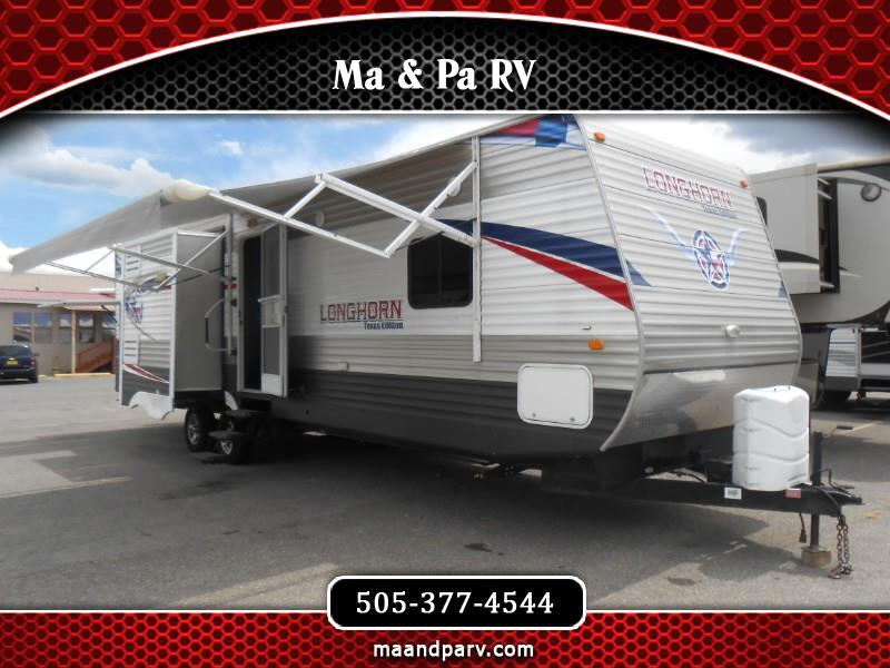 2013 Crossroads Longhorn 3 SLIDES!!! BUNKHOUSE!!! Model 33 BH
