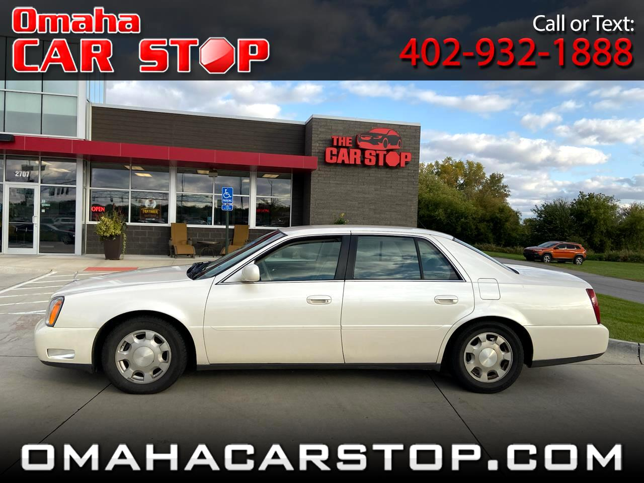 2001 Cadillac DeVille 4dr Sdn