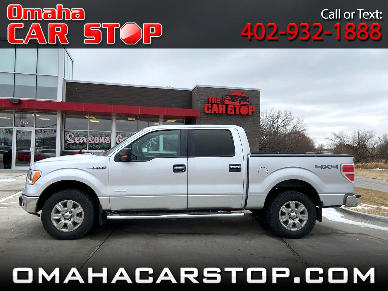 Ford F-150 XLT SuperCrew 6.5-ft Box 4WD 2012