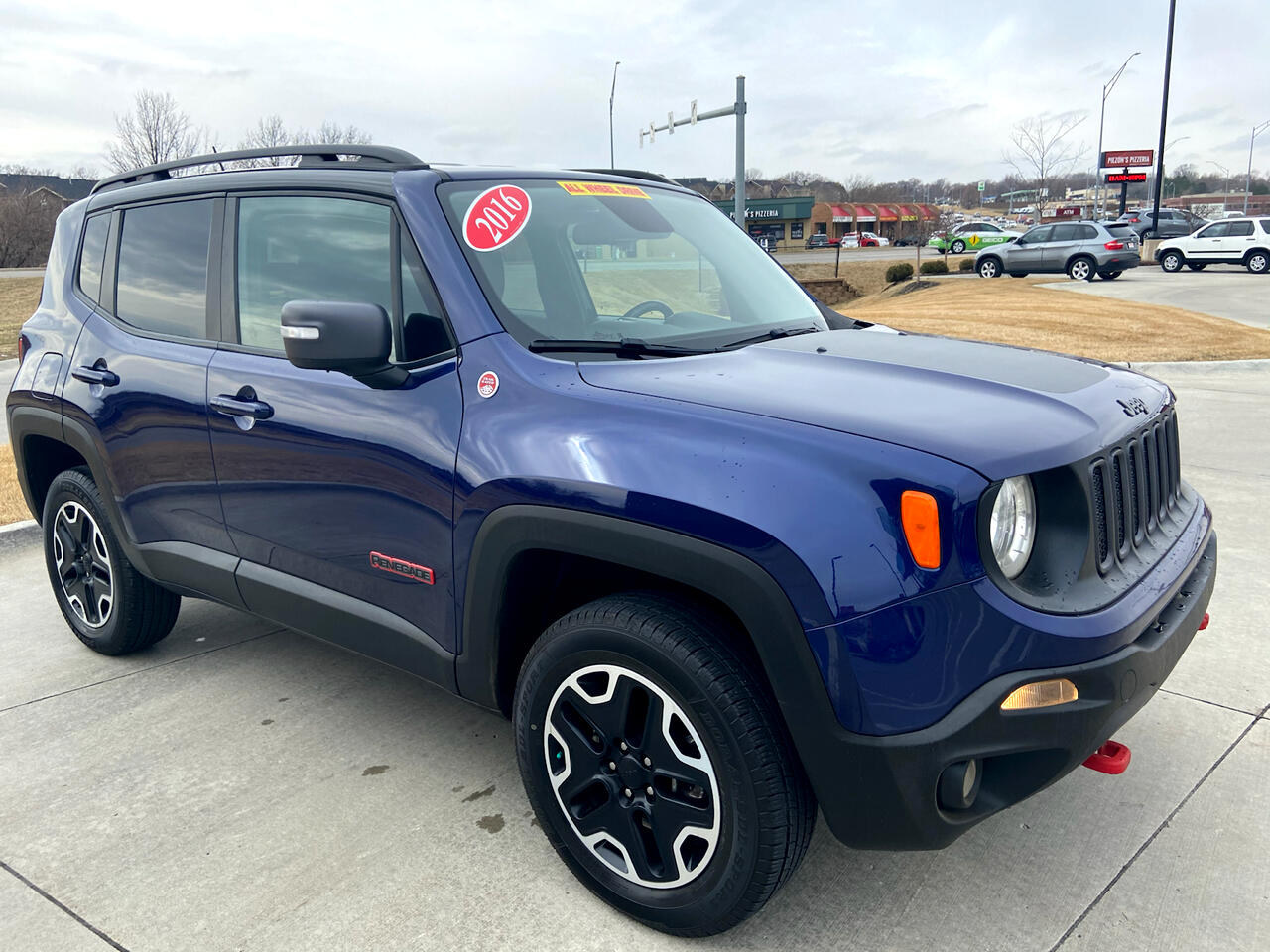 Used 2016 Jeep Renegade 4WD 4dr Trailhawk for Sale in ...