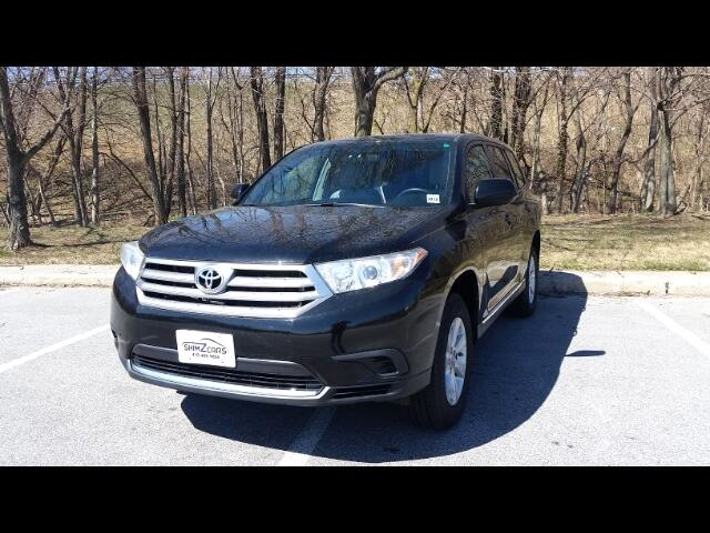 2013 Toyota Highlander V6 2WD with 3rd-Row Seat