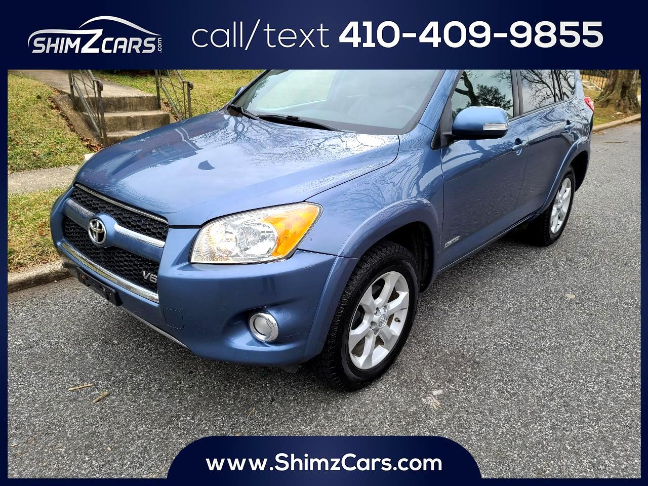 Toyota RAV4 4WD 4dr V6 5-Spd AT Ltd (Natl) 2009