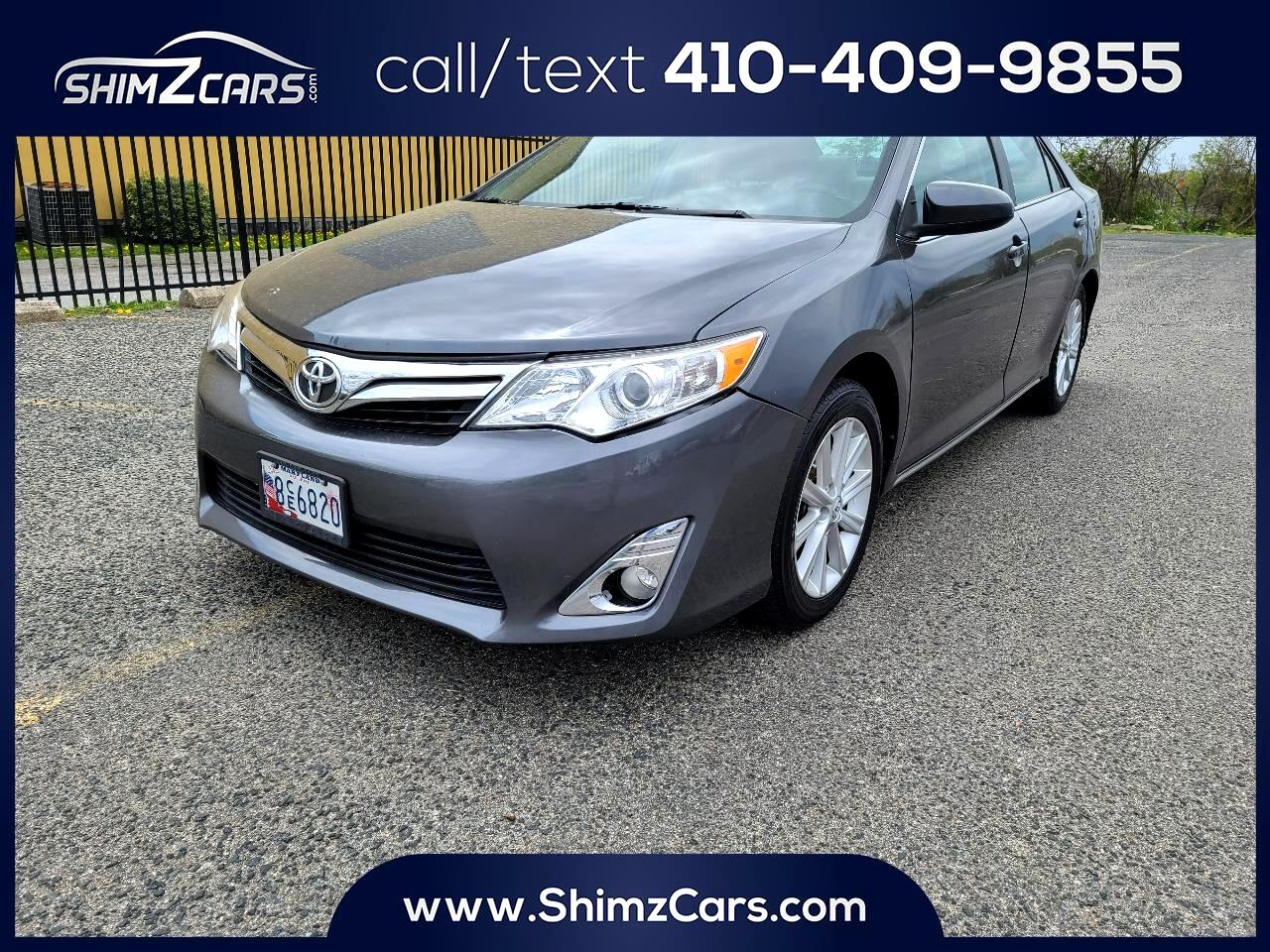 Toyota Camry 4dr Sdn V6 Auto XLE (Natl) 2012