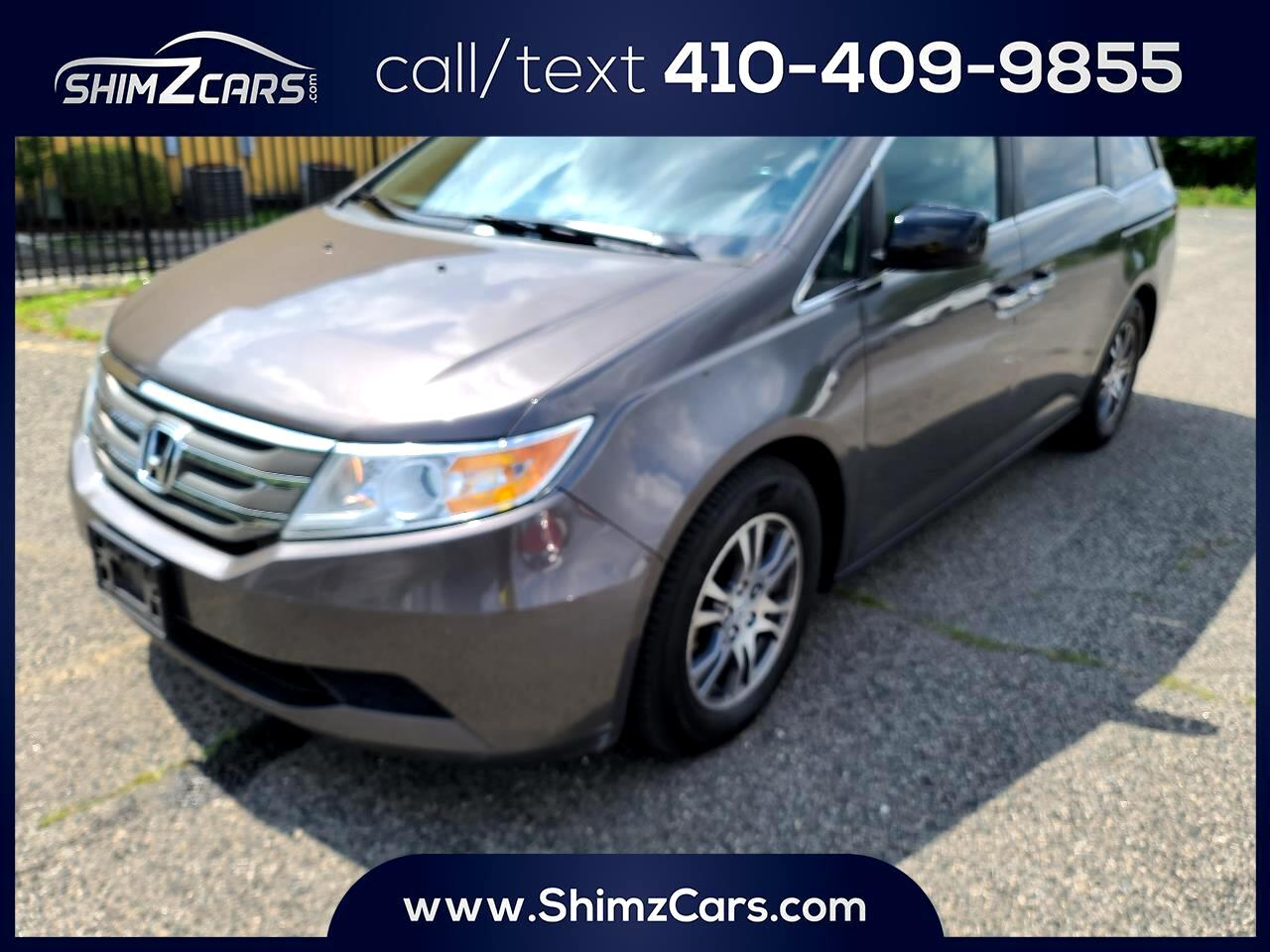 Honda Odyssey 5dr EX-L AT with RES 2012