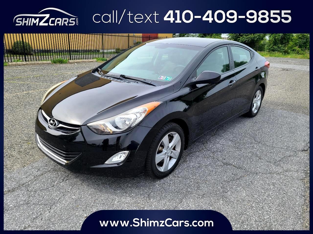 Hyundai Elantra 4dr Sdn Auto GLS PZEV (Alabama Plant) 2012