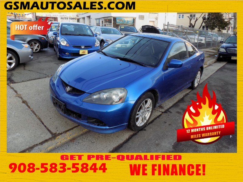 Acura RSX Coupe with 5-speed AT 2006