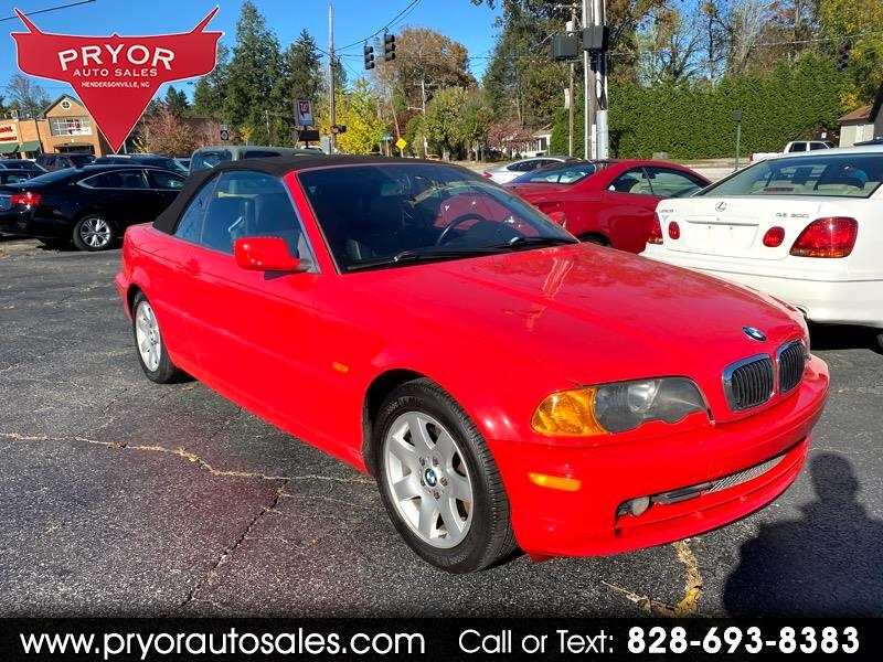 BMW 3-Series 325Ci convertible 2001