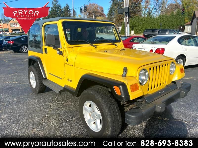 Jeep Wrangler SE 2001