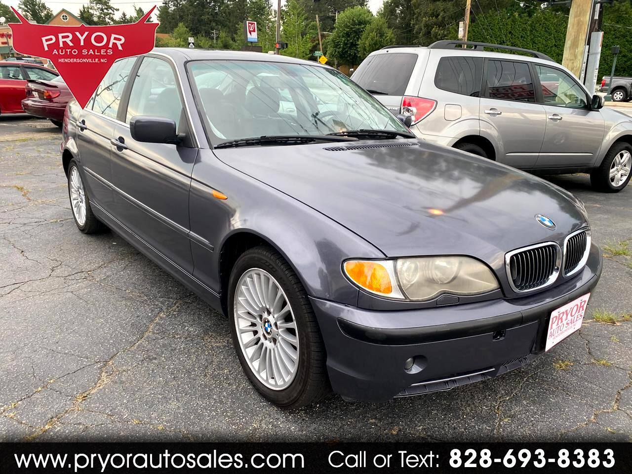 BMW 3-Series 330xi Sedan 2003