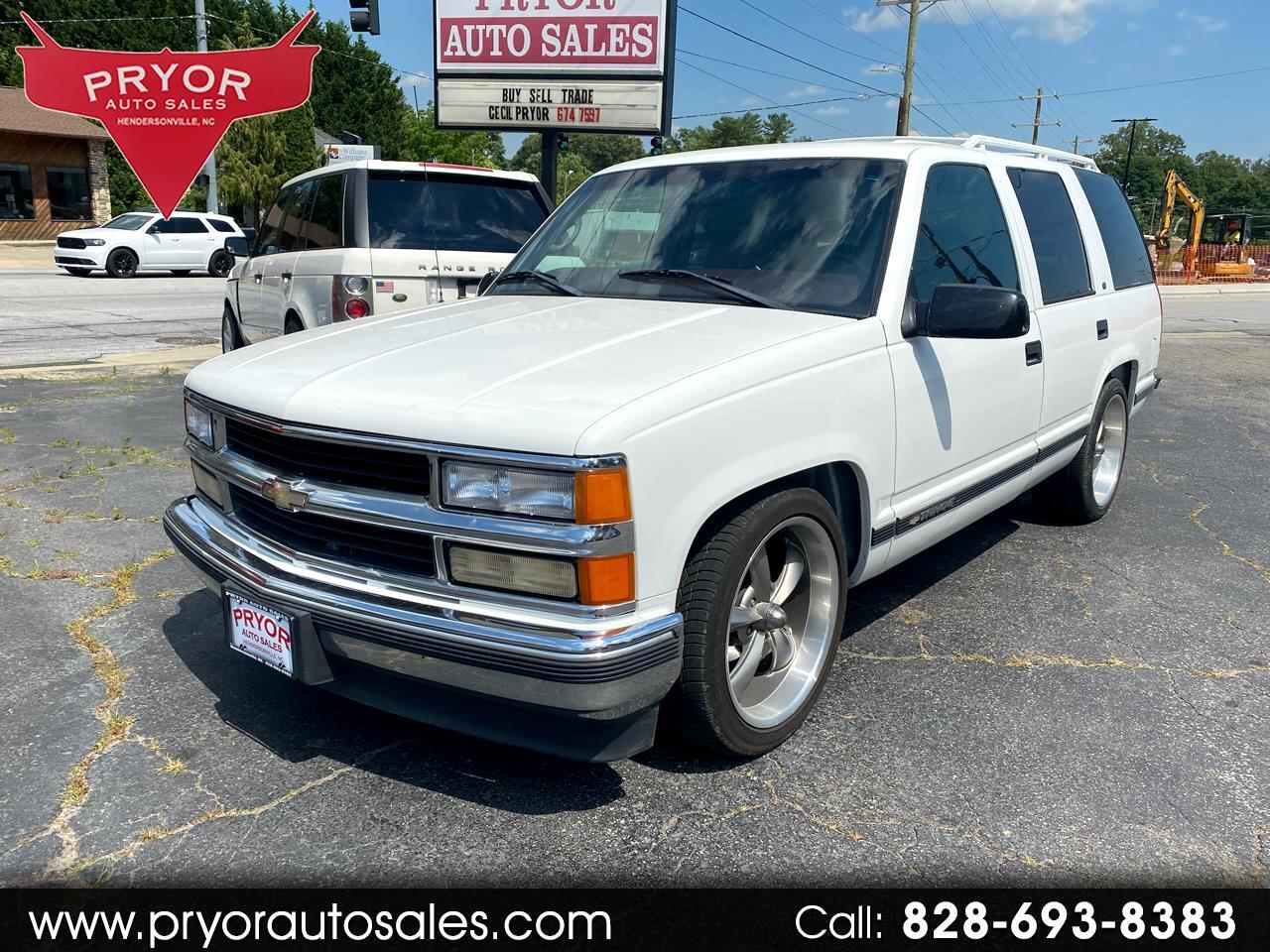 Chevrolet Tahoe 4-Door 2WD 1999