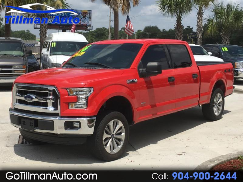 2016 Ford F-150 Lariat 4WD SuperCrew 6.5' Box