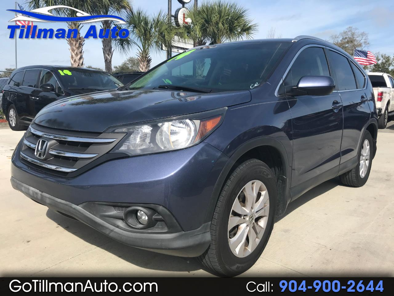 Honda CR-V EX-L 2WD with Navigation 2014