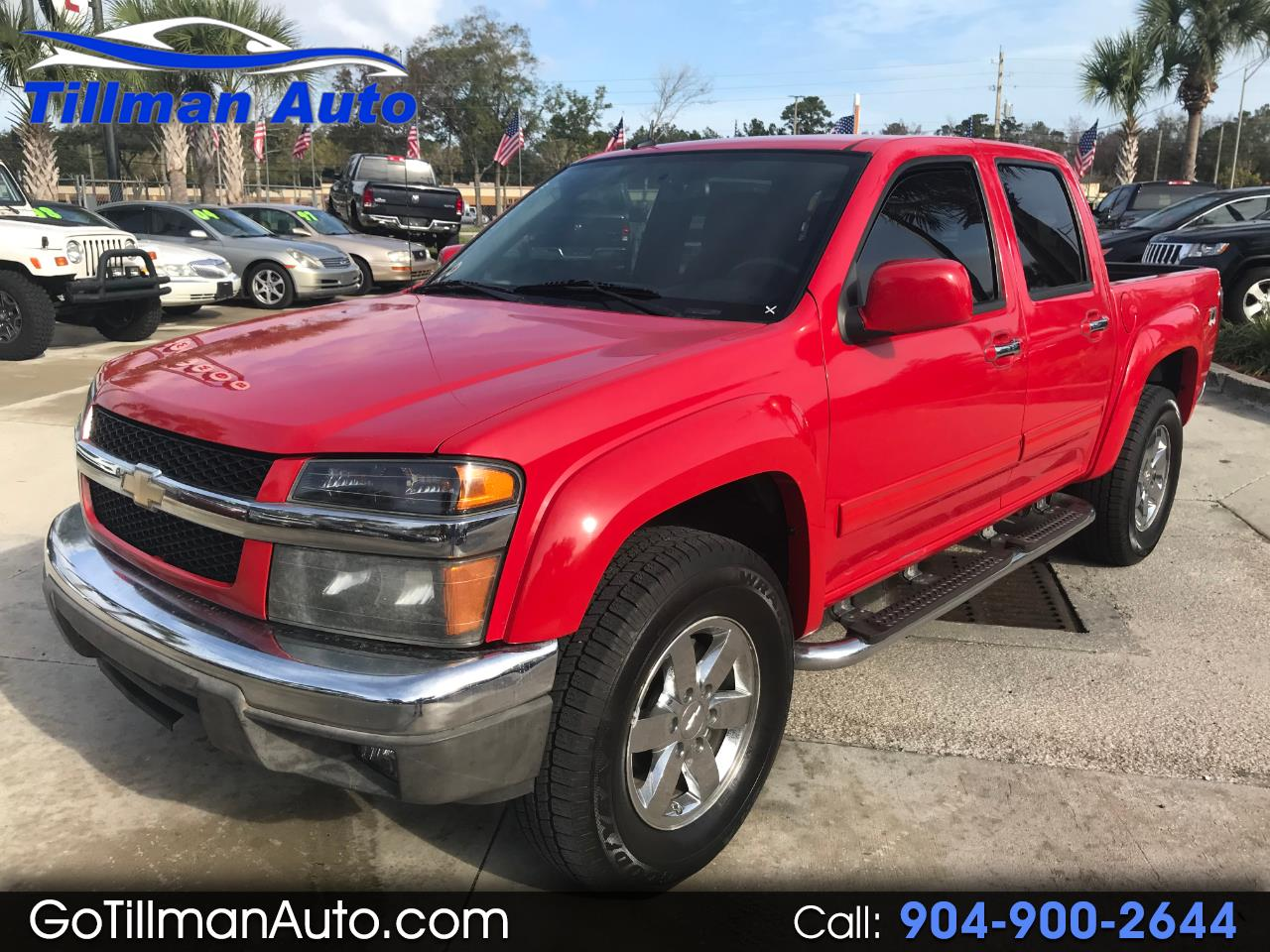Chevrolet Colorado 2LT Crew Cab 4WD 2011
