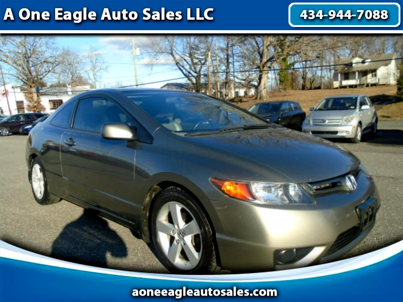 2008 Honda Civic EX-L Coupe AT with Navigation