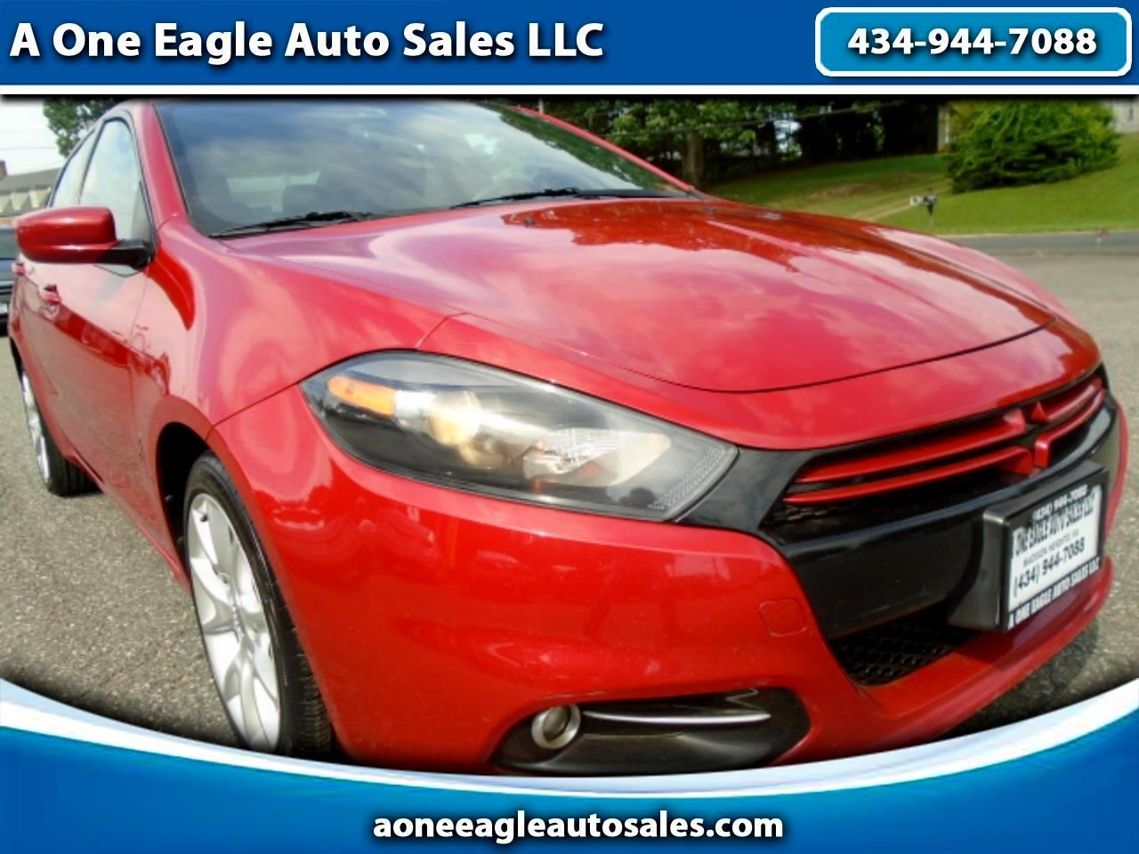 Eagle Auto Sales >> Used 2013 Dodge Dart Rallye For Sale In Lynchburg Va 24572 A