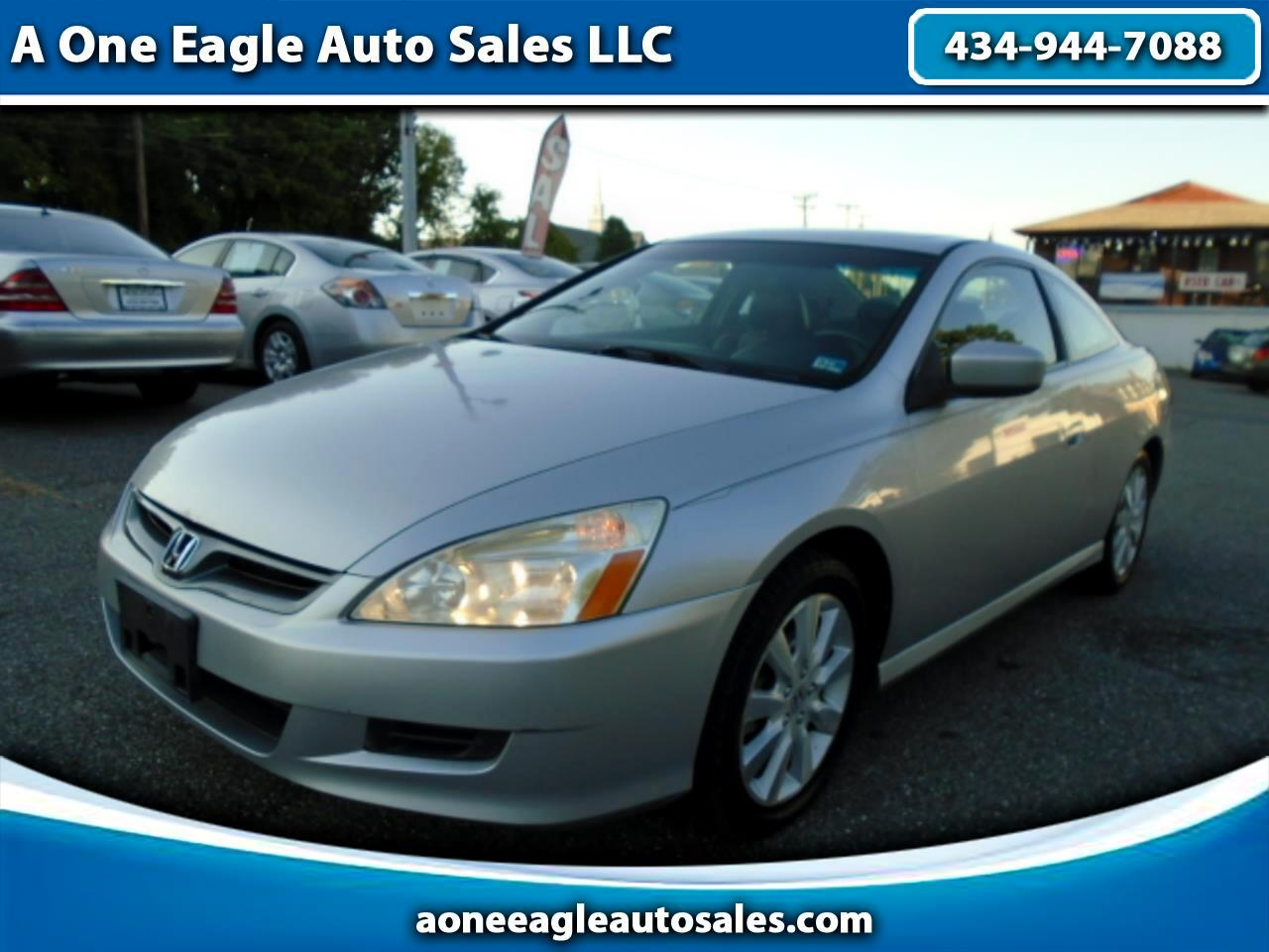 2007 Honda Accord EX-L V-6 Coupe AT with Navigation