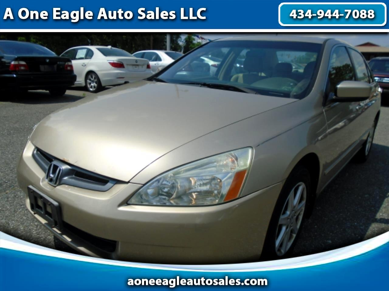 Honda Accord EX V-6 Sedan AT with XM Radio 2004