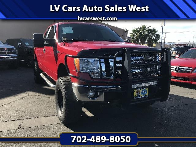 """2010 Ford F-150 4WD SuperCab 145"""" FX4"""