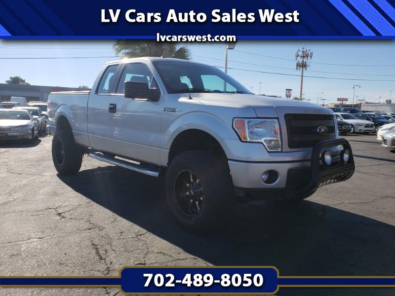 "2014 Ford F-150 4WD Supercab Flareside 145"" FX4"