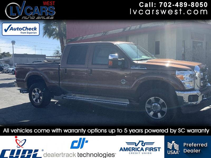 "2011 Ford Super Duty F-350 SRW 4WD Crew Cab 172"" King Ranch"