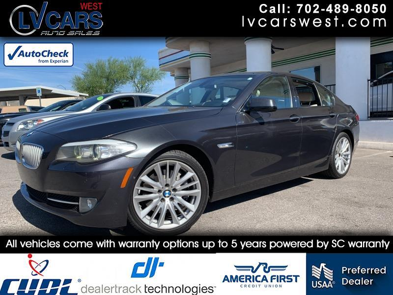 2011 BMW 5-Series 550i xDrive