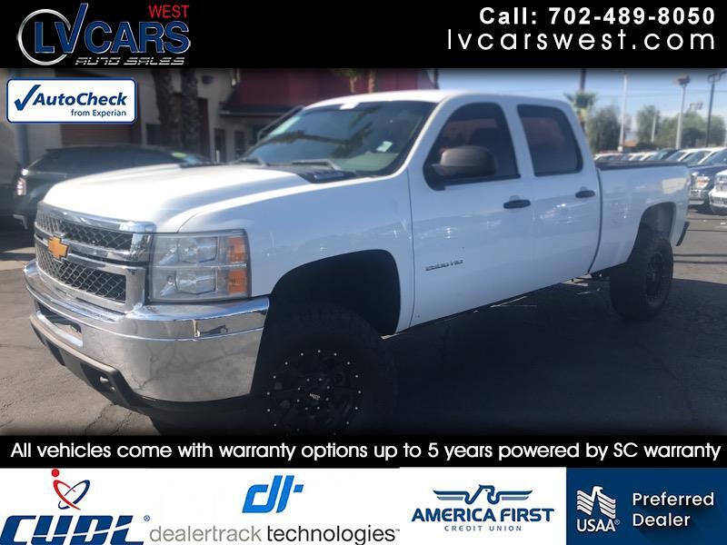 2014 Chevrolet Silverado 2500HD Work Truck Crew Cab 2WD