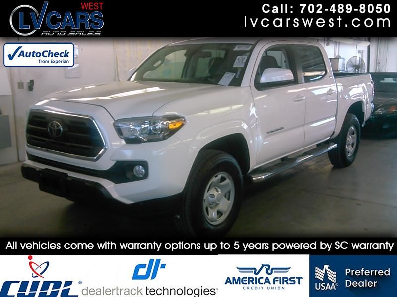2018 Toyota Tacoma SR5 Double Cab Long Bed I4 6AT 2WD