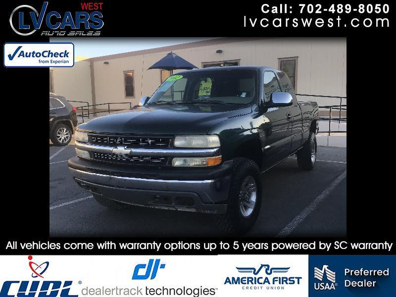 Chevrolet Silverado 1500 LT Ext. Cab Long Bed 4WD 2002